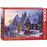 Home For The Holidays 1000 Piece Puzzle by Dominic Davidson